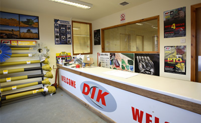 DIK Bearings & Transmissions Ltd - Delivering a first class service.